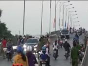 Camera hành trình - Gây tai nạn kinh hoàng trên cầu, thủ phạm bỏ trốn