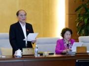 Tin tức trong ngày - Chủ tịch QH: Xin lùi Luật Biểu tình là thiếu nghiêm túc