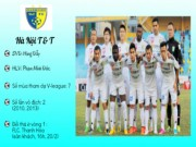 """Bóng đá - (Infographic) V-League 2016: HN T&T trước """"sóng dữ"""""""