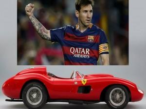 Xe Ferrari đắt nhất thế giới về tay ngôi sao Messi?
