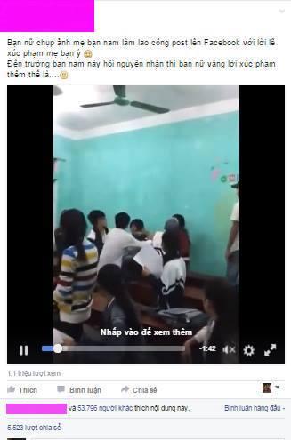 Nữ sinh bị chửi oan vì 'chụp ảnh lao công' đăng Facebook - 1