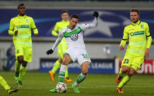 KAA Gent vs Wolfsburg - 1