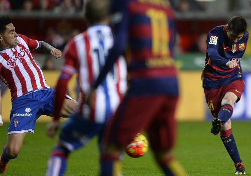 """Messi lập chiến tích """"vô tiền khoáng hậu"""" ở La Liga - 1"""