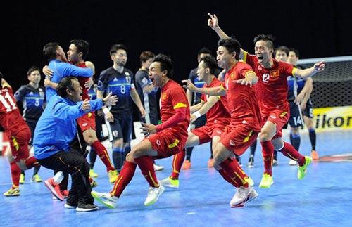 Kỳ tích Futsal VN: Từ trận thắng Brazil tới vé dự World Cup - 1