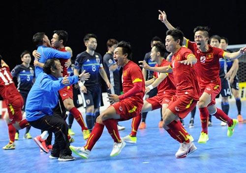 """Futsal Việt Nam dùng """"chiến thuật Táo quân"""" thắng Nhật - 1"""