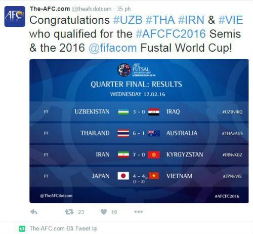 Chuyện cổ tích của futsal VN làm báo chí thế giới sốc - 1