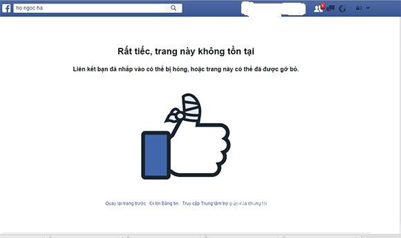 Facebook Hà Hồ 'bốc hơi' và đổi chiều thông tin cũ - 2