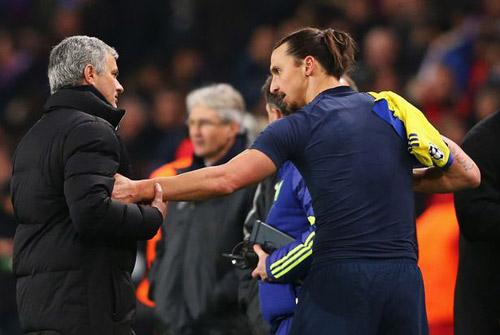 Rộ tin Ibrahimovic tới MU để tái ngộ Mourinho - 2