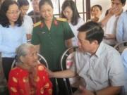 Tin tức trong ngày - Ông Đinh La Thăng chỉ đạo làm đường, xây nhà cho dân