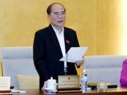 """Tin tức Việt Nam - Chủ tịch Quốc hội: """"Mở mồm"""" là quyền của mỗi người dân"""