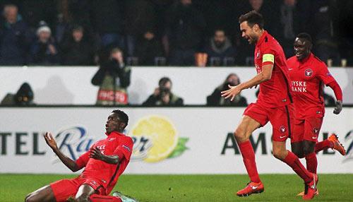 Midtjylland vs Man Utd - 1