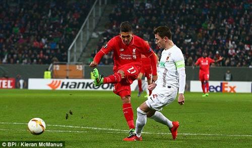 video Augsburg vs Liverpool - 1