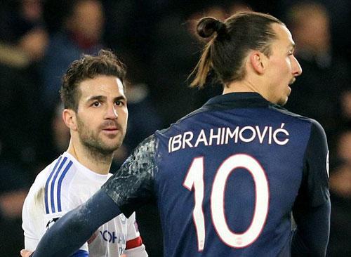 "Tiết lộ: Fabregas đòi ""xử"" Ibra sau trận PSG – Chelsea - 2"