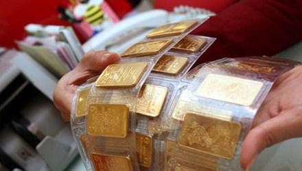 Vàng tăng gần 200 nghìn đồng/lượng, USD tiếp tục giảm - 1