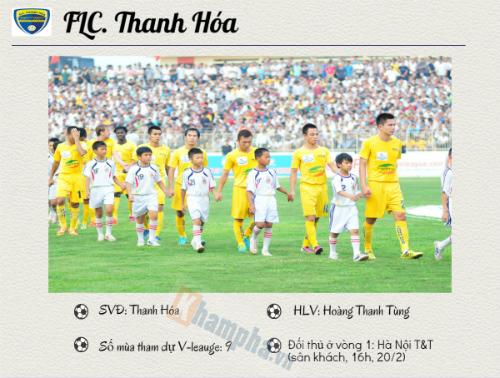(Infographic) V-League 2016: FLC. Thanh Hóa ôm mộng lớn - 2