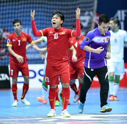 video Futsal Việt Nam vs Iran - 4