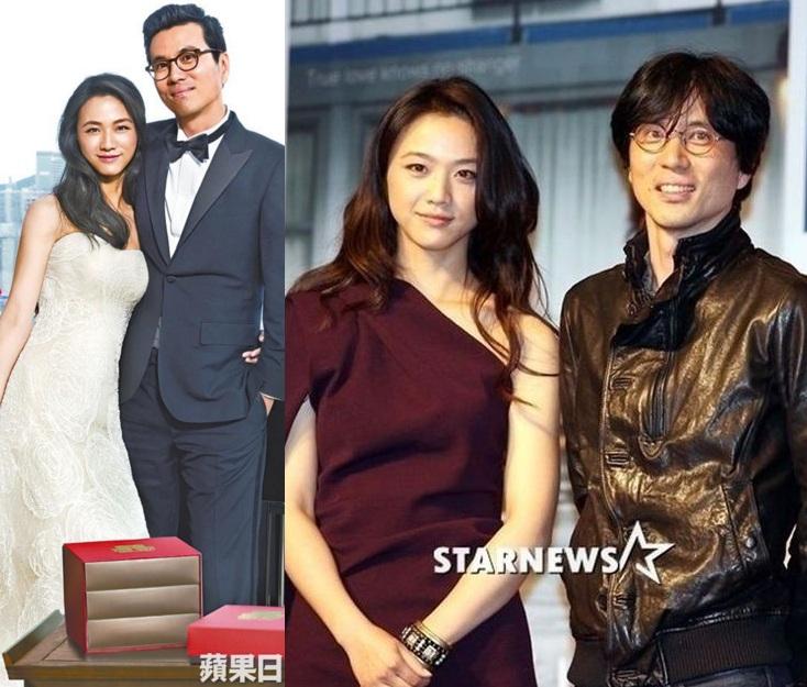 Những cặp vợ Hoa - chồng 'Tây' hạnh phúc của Cbiz - 1