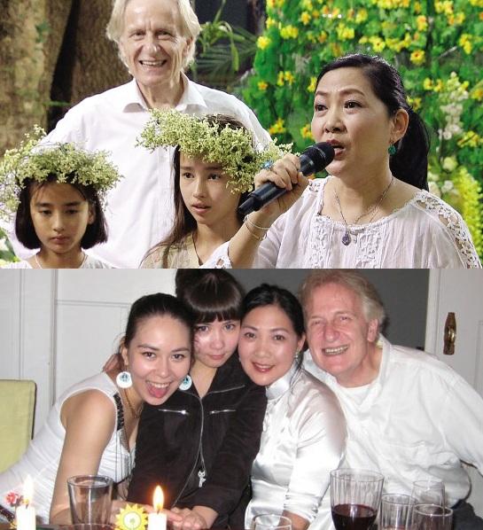 Những cặp vợ Hoa - chồng 'Tây' hạnh phúc của Cbiz - 8