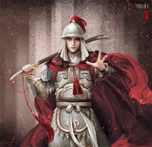 """Vua chúa Lê Sơ đẹp """"mê hồn"""" trong tranh của chàng trai 9x - 9"""