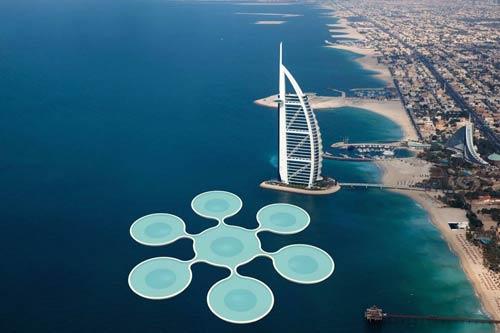 Sân tennis dưới đáy biển: 2,5 tỷ đô cho lịch sử - 2