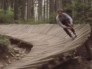 Thể thao - Liều mình với trò trượt patin trong rừng