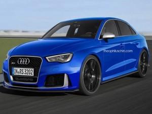 """Audi RS3 Sedan sẵn sàng """"tiến quân"""" North America"""