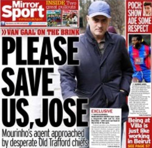 SAO MU tức giận vì Van Gaal, cầu viện Mourinho - 1