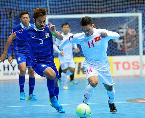 Futsal VN phải đá Thái Lan bằng chiến thuật chứ không đua sức - 1