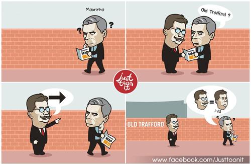 SAO MU tức giận vì Van Gaal, cầu viện Mourinho - 2