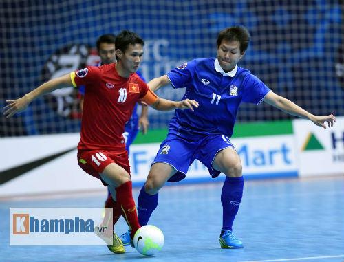 Futsal Việt Nam vs Thái Lan - 1