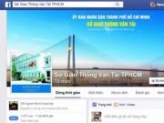 Tin tức trong ngày - Sau điện thoại nóng của Bí thư Thăng, Sở GTVT lập Facebook