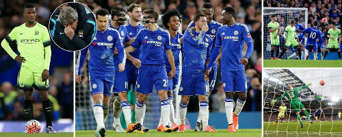 """Thua thảm Chelsea, Pellegrini đổ tại """"nghịch cảnh"""" - 1"""