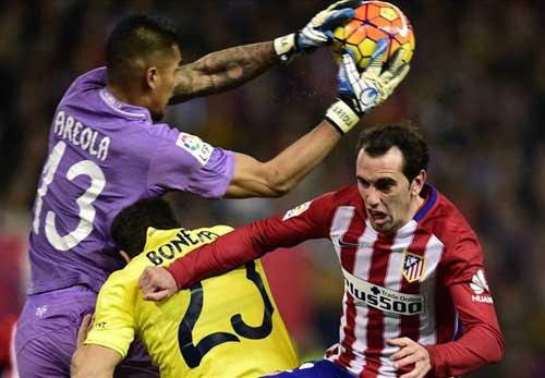 Atletico – Villarreal: Sớm giương cờ trắng - 1