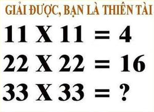 Hãy tìm ra quy luật của bài toán: Giải được, bạn là thiên tài - 1