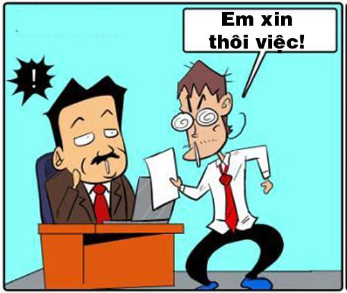 Truyện tranh: Những lý do thôi việc siêu hài - 1