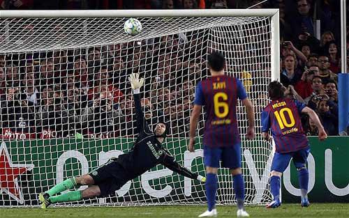 """Messi: Ác mộng với Arsenal nhưng """"khóc than"""" trước Cech - 2"""