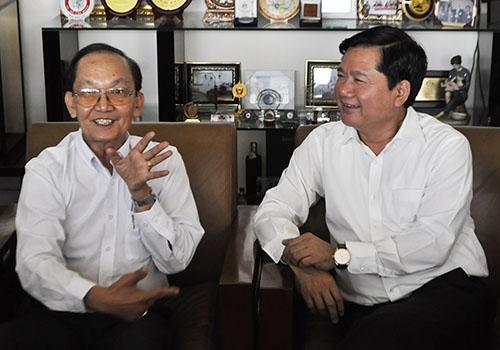 Ông Đinh La Thăng tìm lời giải bài toán quá tải bệnh viện - 1