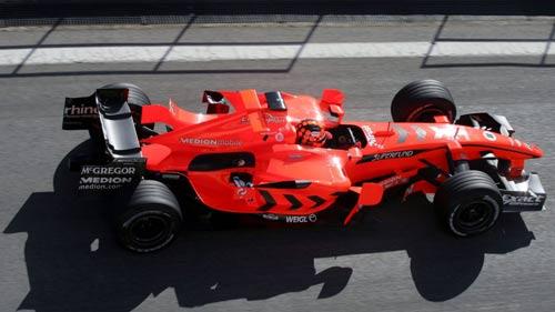 """Thử xe F1: Khi """"những chú tắc kè hoa"""" xuất hiện - 6"""