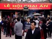 Video An ninh - Đi tìm ý nghĩa đích thực của lễ hội khai ấn Đền Trần