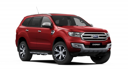 Suv Everest của Ford gây sốc đồng nghiệp - 1