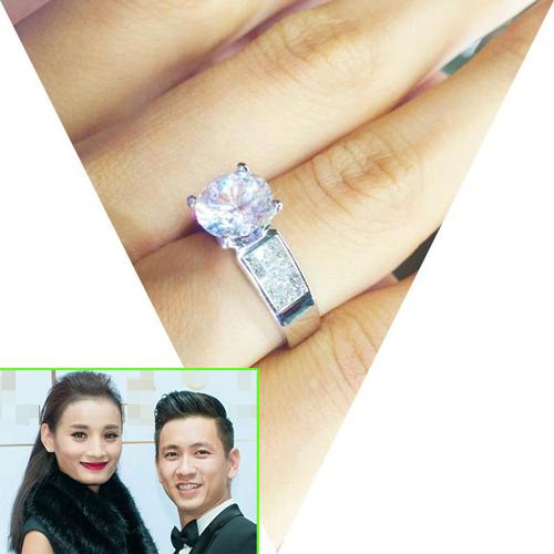 """""""Cuộc đua"""" nhẫn kim cương bạc tỷ của các sao Việt - 14"""
