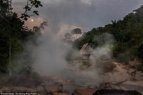 Dòng sông nước nóng huyền bí giữa lòng Amazon - 7