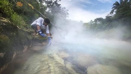 Dòng sông nước nóng huyền bí giữa lòng Amazon - 1