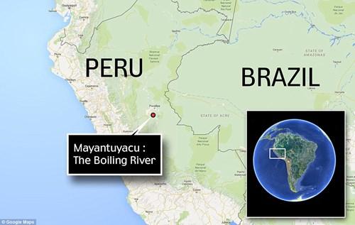 Dòng sông nước nóng huyền bí giữa lòng Amazon - 6