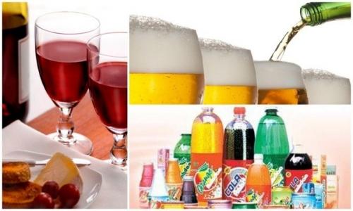 Những loại thực phẩm cấm kỵ dùng với nước có ga - 1