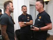 Bóng đá - Beckham ủng hộ Van Gaal, Mourinho mua nhà ở Manchester