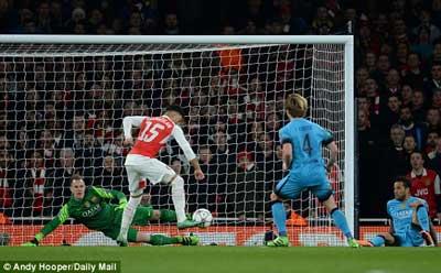 Chi tiết Arsenal – Barca: Người hùng Messi (KT) - 4