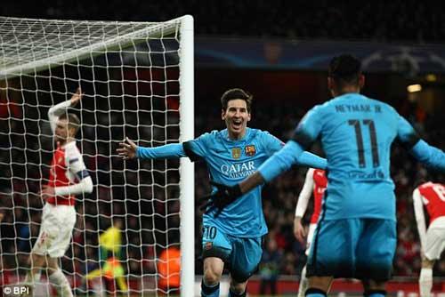 video Arsenal vs Barca - 1