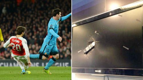 Fan cuồng phá nát tivi vì Arsenal là nữ VĐV nổi tiếng - 1