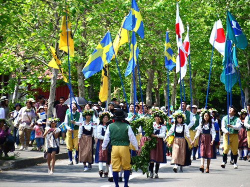 Ngôi làng 'Đồi Thụy Điển' cực dễ thương ở Nhật Bản - 6